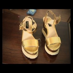 Juicy Couture wedge sandals